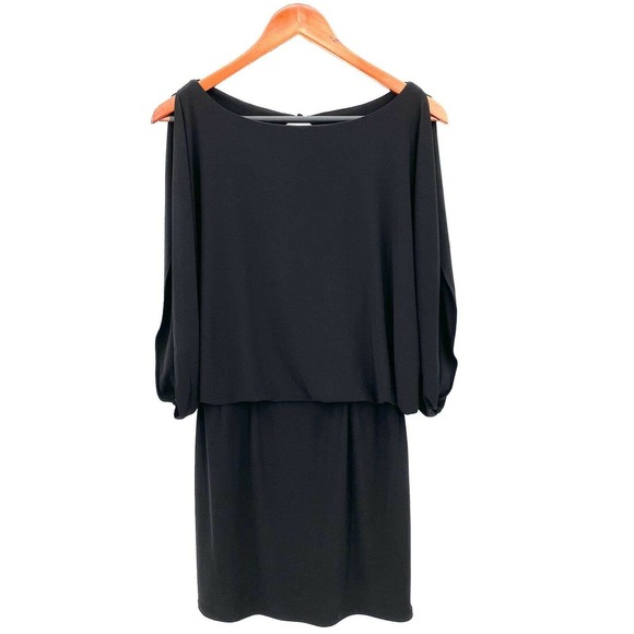 Jessica Simpson Black Cold Shoulder Dress 6